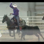 TJ and Mercedes Team Roping